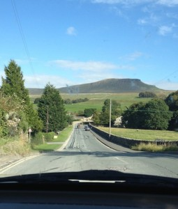 Pen-Y-Ghent - glorious drive down