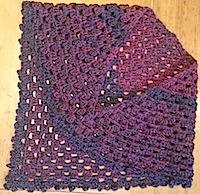 shawl folded